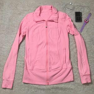 Lululemon Athletica Pink Athletic Jacket